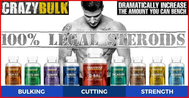 crazy bulk best legal steroids for sale